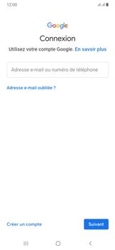 Samsung Galaxy A50 - Applications - Créer un compte - Étape 5