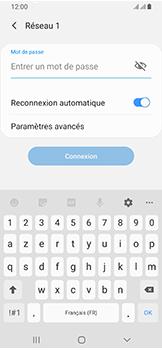 Samsung Galaxy A40 - Wifi - configuration manuelle - Étape 7