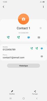 Samsung Galaxy A50 - Contact, Appels, SMS/MMS - Ajouter un contact - Étape 12