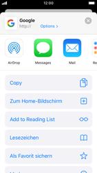 Apple iPhone SE - iOS 13 - Internet und Datenroaming - Verwenden des Internets - Schritt 6