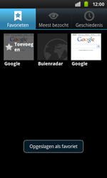 Samsung I9001 Galaxy S Plus - Internet - Hoe te internetten - Stap 9