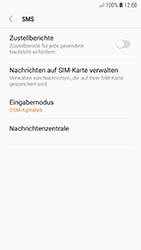 Samsung Galaxy A5 (2017) - SMS - Manuelle Konfiguration - 0 / 0