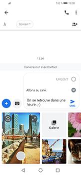 Huawei P30 lite - Contact, Appels, SMS/MMS - Envoyer un MMS - Étape 11