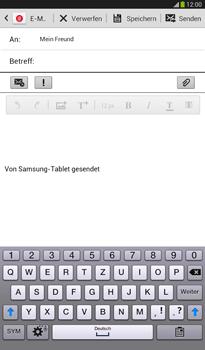 Samsung T211 Galaxy Tab 3 7-0 - E-Mail - E-Mail versenden - Schritt 8