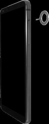 LG G6 - Android Oreo - SIM-Karte - Einlegen - Schritt 2