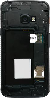 Samsung galaxy-xcover-4s-dual-sim-sm-g398fn - Instellingen aanpassen - SIM-Kaart plaatsen - Stap 5