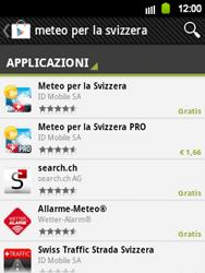Samsung Galaxy Y - Applicazioni - Installazione delle applicazioni - Fase 13