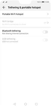 Huawei P20 Pro - Android Pie - WiFi - How to enable WiFi hotspot - Step 5
