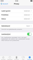 Apple iPhone 7 (Model A1778) - Privacy - Maak WhatsApp veilig en beheer je privacy - Stap 13