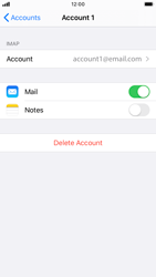 Apple iPhone 7 - iOS 13 - Email - Manual configuration IMAP without SMTP verification - Step 27