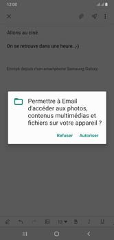Samsung Galaxy A10 - E-mails - Envoyer un e-mail - Étape 14