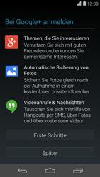 Huawei Ascend P7 - Apps - Konto anlegen und einrichten - 18 / 21