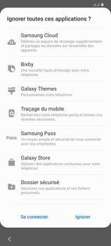 Samsung Galaxy S20+ - Premiers pas - Configuration de l