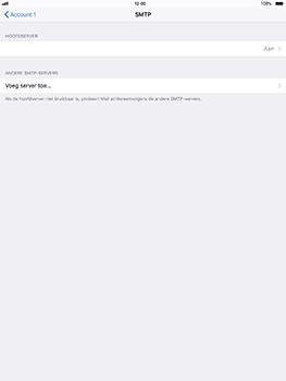 Apple iPad Pro 10.5 inch - iOS 11 - E-mail - Account instellen (POP3 met SMTP-verificatie) - Stap 20