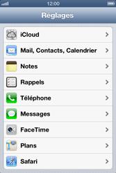 Apple iPhone 4 - E-mail - configuration manuelle - Étape 7