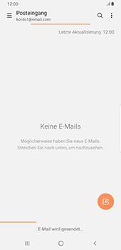 Samsung Galaxy S9 Plus - Android Pie - E-Mail - E-Mail versenden - Schritt 21