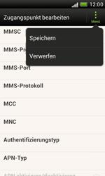 HTC Desire X - MMS - Manuelle Konfiguration - 13 / 16