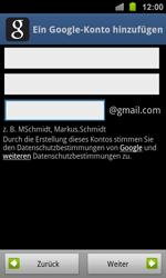 Samsung Galaxy Ace 2 - Apps - Konto anlegen und einrichten - 8 / 19