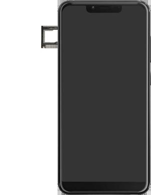 Wiko View 2 Plus - Toestel - simkaart plaatsen - Stap 3