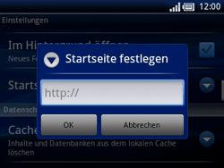 Sony Ericsson Xperia X10 Mini Pro - Internet - Manuelle Konfiguration - Schritt 21