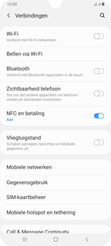 Samsung Galaxy A70 - wifi - handmatig instellen - stap 5