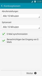 Samsung Galaxy S5 - E-Mail - Konto einrichten - 1 / 1