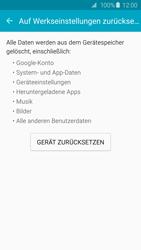 Samsung Galaxy S6 Edge - Fehlerbehebung - Handy zurücksetzen - 8 / 11