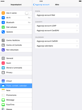Apple iPad Air - E-mail - configurazione manuale - Fase 6