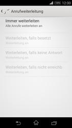 Sony Xperia E3 - Anrufe - Rufumleitungen setzen und löschen - 8 / 9