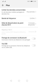 Huawei P30 - Internet et connexion - Utiliser le mode modem par USB - Étape 8