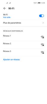 Huawei P40 Lite 5G - Internet et connexion - Accéder au réseau Wi-Fi - Étape 5