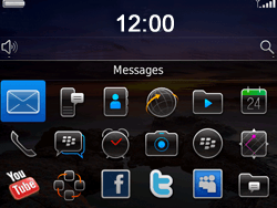 BlackBerry 9780 Bold - Settings - Configuration message received - Step 9