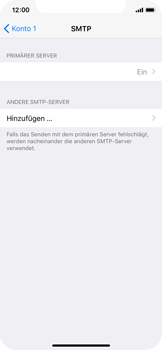 Apple iPhone X - E-Mail - Konto einrichten - 1 / 1