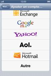 Apple iPhone 4 - E-mail - configuration manuelle - Étape 9