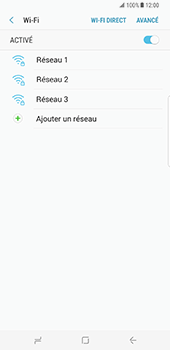 Samsung Galaxy S8 Plus - WiFi - Configuration du WiFi - Étape 7