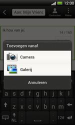 HTC T320e One V - MMS - Afbeeldingen verzenden - Stap 9