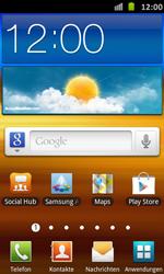 Samsung Galaxy S Advance - E-Mail - Manuelle Konfiguration - Schritt 1
