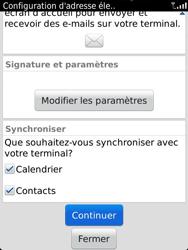 BlackBerry 9810 Torch - E-mail - Configuration manuelle - Étape 10