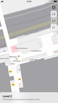 Apple iPhone 6s Plus - iOS 11 - Indoor-Karten (Einkaufszentren/Flughäfen) - 8 / 12