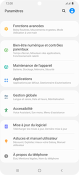 Samsung Galaxy S20 Ultra 5G - Applications - Comment désinstaller une application - Étape 4