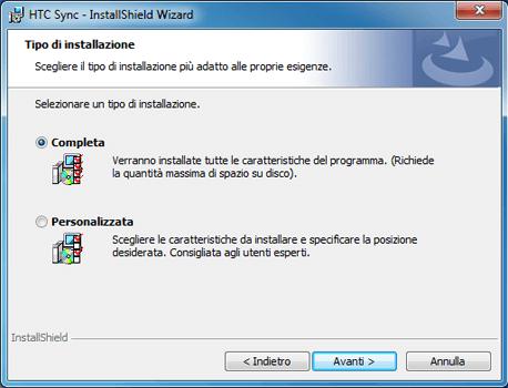 HTC Desire X - Software - Installazione del software di sincronizzazione PC - Fase 9