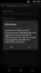 Sony Xperia T - Internet e roaming dati - Configurazione manuale - Fase 7