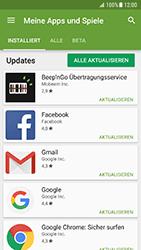 Samsung Galaxy S7 - Android N - Apps - Nach App-Updates suchen - Schritt 7
