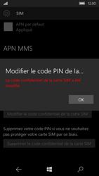 Microsoft Lumia 950 - Sécuriser votre mobile - Personnaliser le code PIN de votre carte SIM - Étape 10