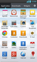 LG E460 Optimus L5 II - E-mail - e-mail instellen: POP3 - Stap 3