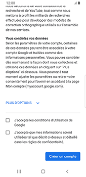 Samsung Galaxy S9 Android Pie - Applications - Créer un compte - Étape 15