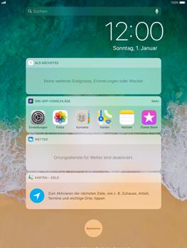 Apple iPad Air - iOS 11 - Sperrbildschirm und Benachrichtigungen - 4 / 9