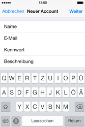 Apple iPhone 4 S - E-Mail - Konto einrichten - 9 / 29