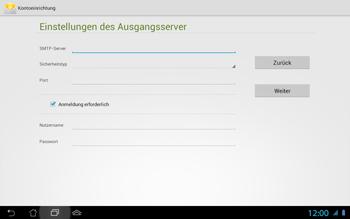 Asus Padfone 2 - E-Mail - Konto einrichten - Schritt 14