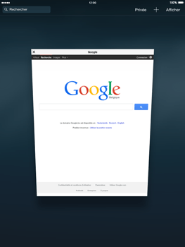 Apple iPad mini 2 - iOS 8 - Internet et roaming de données - Navigation sur Internet - Étape 12